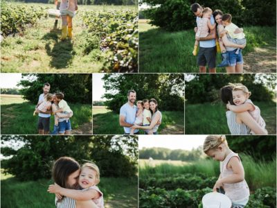 Strawberry Picking | Huntsville AL Family Photography