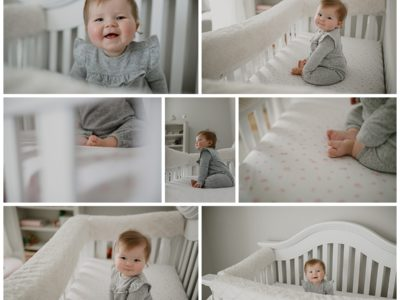 Huntsville Baby Photographer | Dupuis 6 month home session