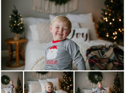 Huntsville Family Photographer |Hudson's Christmas Session