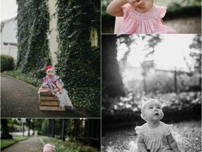 Downtown Huntsville Baby Photographer | Milestone Mini
