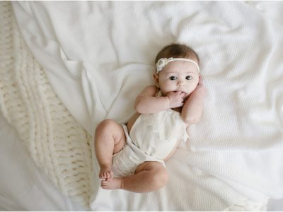 Madison Baby PHOTOGRAPHER | Miller 3 month MILESTONE MINI HOME SESSIOn