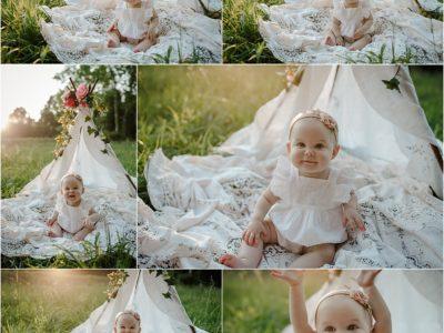 SMASH CAKE CHILD PHOTOGRAPHER HUNTSVILLE AL | DENTON FAMILY